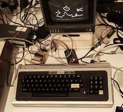 TRS-80 frisch aus der Werkstatt (stiefkind) Tags: vcfe vcfe18 vintagecomputing homecomputer 8bit trs80