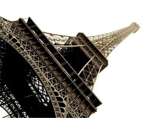mr eiffel (DaveGassmann) Tags: france city eiffelturm paris frankreich