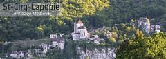 117x42mm // Réf : 15111003 // Saint-Cirq-Lapopie