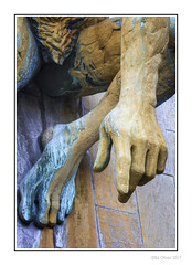 It Could Be You! (Seven_Wishes) Tags: newcastleupontyne civiccentre statue sculpture hand finger arm pointing foot leg thigh groin bronze listed wall canoneos1dmarkiv canonef70200mmf28lisii photoborder kc hhm body bodyparts rivertynegod