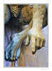 It Could Be You! (Seven_Wishes) Tags: newcastleupontyne civiccentre statue sculpture hand finger arm pointing foot leg thigh groin bronze listed wall canoneos1dmarkiv canonef70200mmf28lisii photoborder kc hhm body bodyparts rivertynegod 2017 views4k