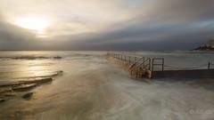 Sunlight (keikoellis) Tags: oceanpool cloudy sunrise australia cronulla 1740mf4 canon6d seascape