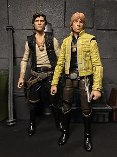 Heros of the Rebellion. Custom Yavin Luke 6