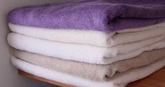 Towels ~ laundered and folded [EXPLORED] (Baking is my Zen) Tags: towels foldedtowels allinorder odc ourdailychallenge canonrebelt1i launderedandfoldedtowels explored