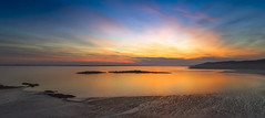 Carrick Shore at Sunset (Mike Bolam) Tags: dji drone uav aerialphotograph dumfriesandgalloway