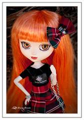 Nueva custom 2 (Geno G.) Tags: angelgate pullip pullips pullipcustom pelirroja naranja faldadecuadros