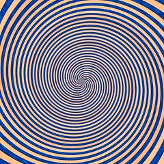 Zoom......... (vbalson) Tags: blue orange spiral hss hallucination moire
