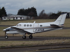 F-HTCR Beech King Air 90GTi Aero Charter Darta (Aircaft @ Gloucestershire Airport By James) Tags: gloucestershire airport fhtcr beech king air 90gti aero charter darta egbj james lloyds