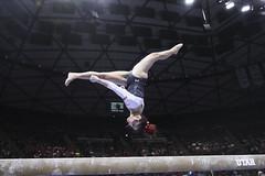 gymnastics028 (Ayers Photo) Tags: sports canon utahutes utah utes red redrocks gymnastics barefoot bare foot feet toes toe barefeet woman women