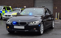 Unmarked BMW Traffic Car (firepicx) Tags: unmarked bmw 330d xdrive traffic car police roads policing rpu blue lights sirens emergency 999 trunk patrol group trpg scotland scottish dalkeith