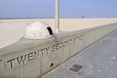 Twenty-Second Street (AntyDiluvian) Tags: california la losangeles beach hermosabeach thestrand wall twentysecondstreet 22ndstreet