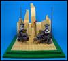 Loper Scout Units (Karf Oohlu) Tags: lego moc vignette loper walker droid bot mecha scout
