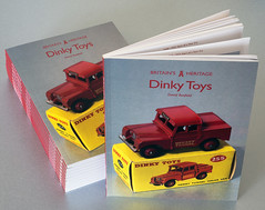 New Dinky Toys Book by David Busfield (buzzer999) Tags: book dinkytoys meccano liverpool merseytunnel police dinky supertoy diecast 1950s 1960s amberley collectable landrover 4x4 paperback nonfiction childhood memories binnsroad emergency