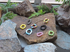 1:6 Scale Bead Bracelets for Barbie, Fashion Royalty, & Homme Dolls (~EverFashionista216~) Tags: barbie dolls necklace poppy parker fashion royalty color infusion integrity toys bracelets native american boho style ken homme jewerly