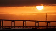 San Mateo Bridge (John Loo) Tags: san mateo bridge seal point park francisco bay sunrise
