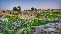Omm Qays - Jordan (ibndzerir) Tags: landscape أمقيس الأردن oldfortress ommqays jordan