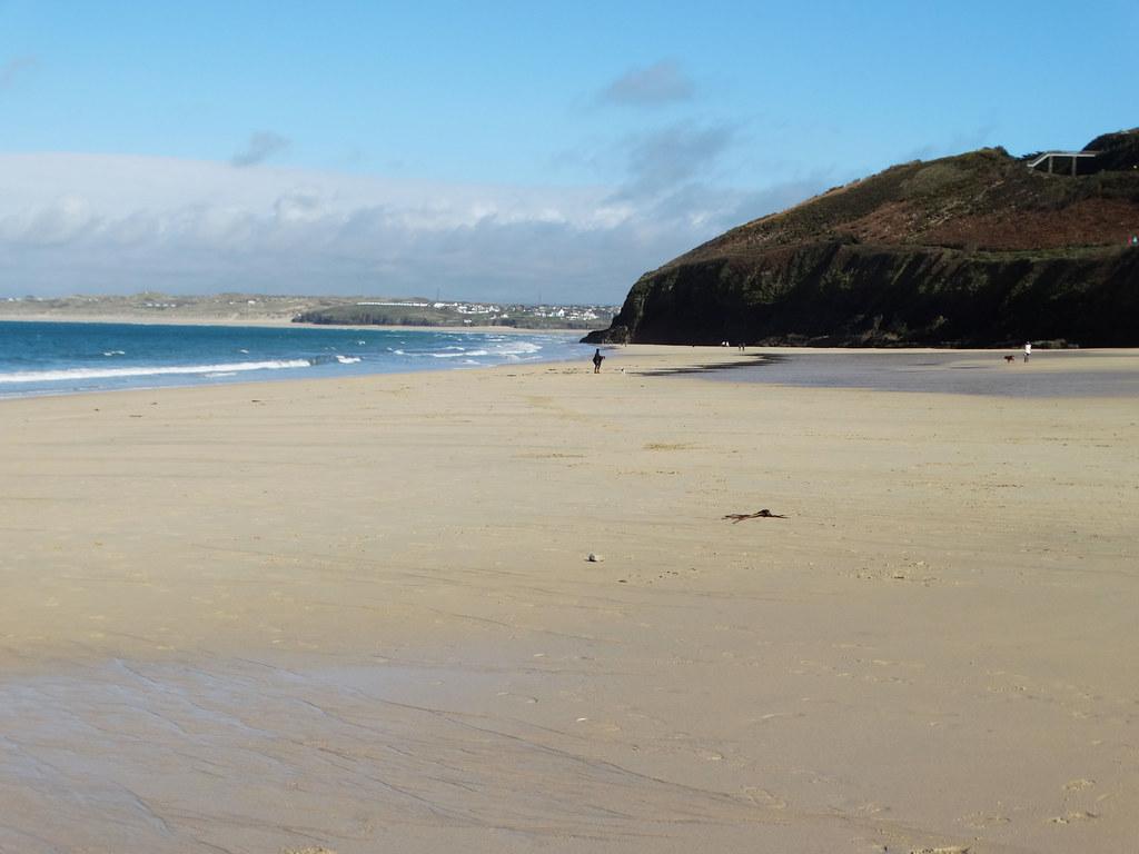 Carbis Bay ... sur la plage.