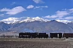 Magic moment (Bingley Hall) Tags: rail railway railroad transport train transportation trainspotting locomotive engine freight turkey erzincan steam 2100 snow mountain tcdd