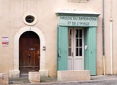 Maison du Patrimoine (♥ Annieta ) Tags: annieta februari 2017 sony a6000 holiday vakantie vacances france frankrijk laseynesurmer deur door porte allrightsreserved usingthispicturewithoutpermissionisillegal