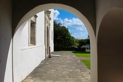 Archway (Piedmont Fossil) Tags: goliad state park texas mission espiritu santo