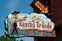 Rancho Grande (dangr.dave) Tags: tulsa ok oklahoma downtown historic architecture ranchogrande mexicanfood vaquero cowboy mexican