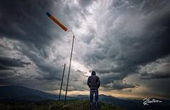 Thinking to Fly (Riccardo Maria Mantero) Tags: clouds mantero riccardo maria landscape outdoors paraglide people sky thinking wind riccardomantero riccardomariamantero
