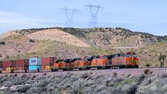 "Waiting at ""Martinez"" (rcz115.3803) Tags: cajonpass bnsf c449w trains"