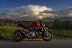 A real Monster (rockymotard) Tags: monster 1200s switzerland ducati thurgau motorcycle motorbike