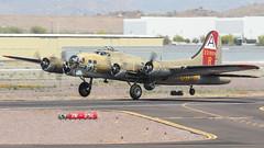 Collings Foundation Douglas/Long Beach (Boeing) B-17G Flying Fortress 44-83575 N93012 'Nine O Nine' (ChrisK48) Tags: macmccauley nineonine b17 b17g boeingb17g cn32216 collingsfoundation douglaslongbeachb17g85dl flyingfortress n93012 usaaf4483575 kdvt phoenixaz phoenixdeervalleyairport aircraft airplane dvt