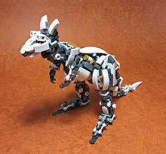 LEGO Mech Kangaroo-02 (ToyForce 120) Tags: lego robot robots mecha mech mechanic legomech legomoc