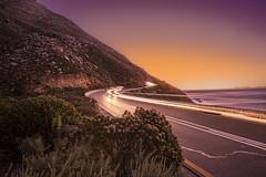 A busy road, a calming sunset [explored] (Paul Ballot) Tags: cape town capetown kapstadt südafrika south africa rsa garden route ocean sunset