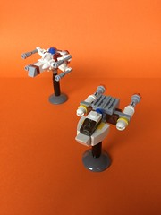Ships of the Alliance (FxanderW) Tags: alliance rebel moc microscale mini ywing xwing starwars lego