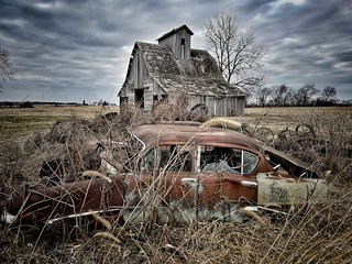 ruins and rust...