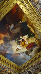 435 (udain.tomar) Tags: france paris outdoor wandering photography louvre musuem musee artifacts history lavish wall mural painting interior