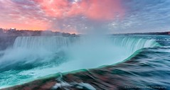 Sunrise at Niagara Falls (Graham_CS) Tags: sunrise waterfalls niagarafalls amazing canon5dmkiii landscapes canada