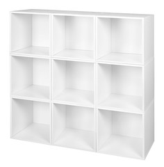 PC9PKWH (RegencyOfficeFurniture) Tags: niche regency cubo cubestorage modularstorage modular connecting connectable adaptable custom customizable cube square storageset closet organizer organization furniture cubes expandable home melamine laminate white whitewoodgrain pc9pk pc1211wh