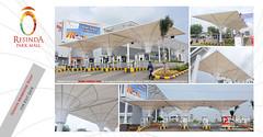 114. Resinda Park Mall - Tension Membrane Roof for Exit Gate (sigma [ tensile_tent ]) Tags: tension tensile tent park mall resinda jawabarat indonesia canopy membrane roof membran tenda jakarta conical