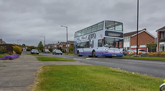 First Bus 30565, Bessacarr, Doncaster. (ManOfYorkshire) Tags: wu02kvf volvo b7tl alexander alx400 2705 30565 first southyorkshire bus group mainline westbessacarr route58 stoopsln bessacarr doncaster suburb suburbs urban route fastfurious8
