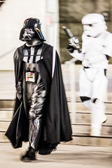 Lord Vader, Silicon Valley Comic Con, 2016 (Thomas Hawk) Tags: california comiccon comicconsiliconvalley conventioncenter cosplay costumeplay darthvader svcc svcc2016 sanjose sanjoseconventioncenter siliconvalleycomiccon starwars stormtrooper