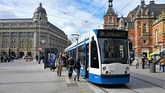 Haltewonder (Peter ( phonepics only) Eijkman) Tags: amsterdam city combino gvb tram transport trams tramtracks rail rails strassenbahn streetcars trolley nederland netherlands nederlandse noordholland holland