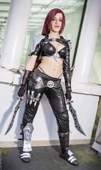 _MG_5855 (Mauro Petrolati) Tags: romics 2017 cosplay cosplayer league legends katarina