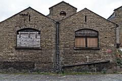 Old Warehouse On Lime Street Dublin [British & Irish Steam Packet Company]-127015 (infomatique) Tags: limestreet dublindocklands oldwarehouse bi shipping derelict williammurphy streetsofdublin streetsofireland infomatique fotonique britishirishsteampacketcompany