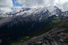 Looking down into Glacier Basin (Sean Munson) Tags: burroughsmountain glacierbasin hiking mountrainier mountrainiernationalpark nationalpark rainier washington landscape mountain