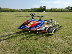 30/04/2017 Giornata al campoo!! (diavolifumanti) Tags: rc elicopters elicotteri trex protos align