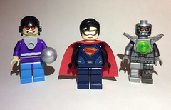 Super Baddies (puristdcfigs) Tags: mongul metallo eradicator superman dc lego
