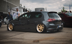 RACEISM EVENT 2016 (JAYJOE.MEDIA) Tags: vw golf mk7 r volkswagen low lower lowered lowlife stance stanced bagged airride static slammed wheelwhore fitment rad48