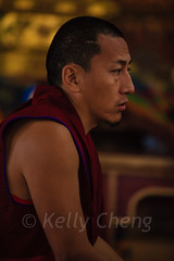 Mongolia-130803-635 (Kelly Cheng) Tags: amarbayasgalantmonastery asia buddhism centralasia mongolia ceremony color colorful colour colourful culture heritage indoor monk people persons pray prayer red religion tourism travel traveldestinations vertical vivid