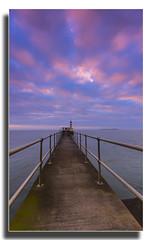 Beyond the Horizon... (Moonbags) Tags: amble coquetisland pier sea lighthouse thefriendlestport northumberland sky dropshadow sony a77 sigma1020mm