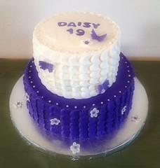 Flower Butterfly cake by Elicia H  Santa Cruz Ca, www.birthdaycakes4free.com