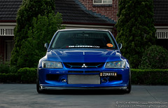 Mitsubishi Evo 9 'VII' (Mitch Hemming) Tags: mitch evolution turbo ssr mitsubishi jap jdm evo widebody hemming thelowdown zomaya mhemming prodjectmu